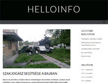Tablet Preview of helloinfo.hu
